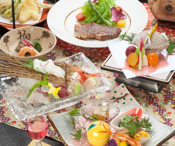 【60thAnniversary】6大特典付き!最高級豪華料理【極会席】