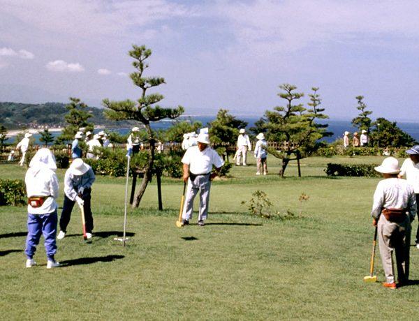 「潮風の丘 とまり」爽やかグラウンド・ゴルフ!プラン