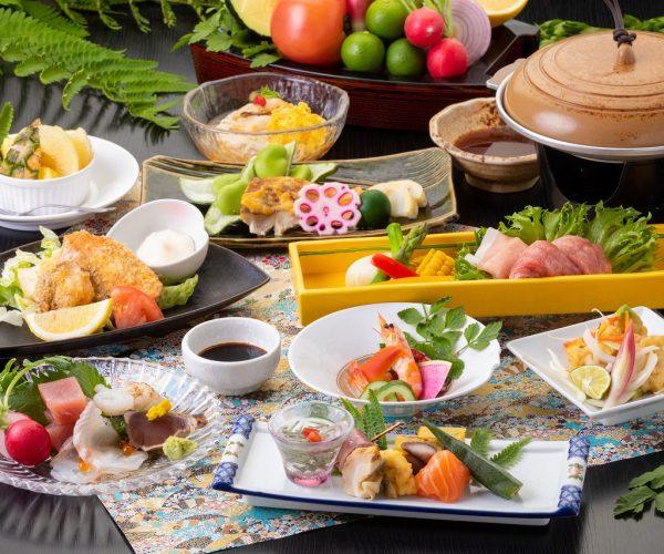 旬の食材を活かし、四季を味わう【季節会席プラン】